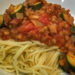 Delicious Vegan Lentil Bolognaise Recipe For Busy Parents