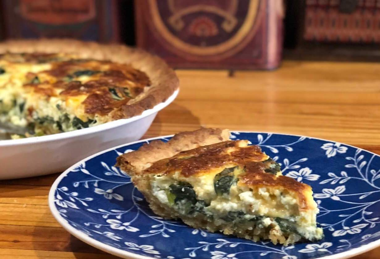 Spinach And Feta Quiche Recipe For The Family
