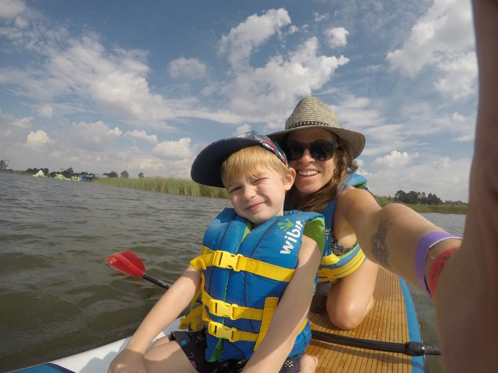 StandUp Paddle Boarding With My Boy