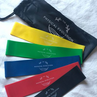 Resistance Bands Pack Of Five Different Strengths