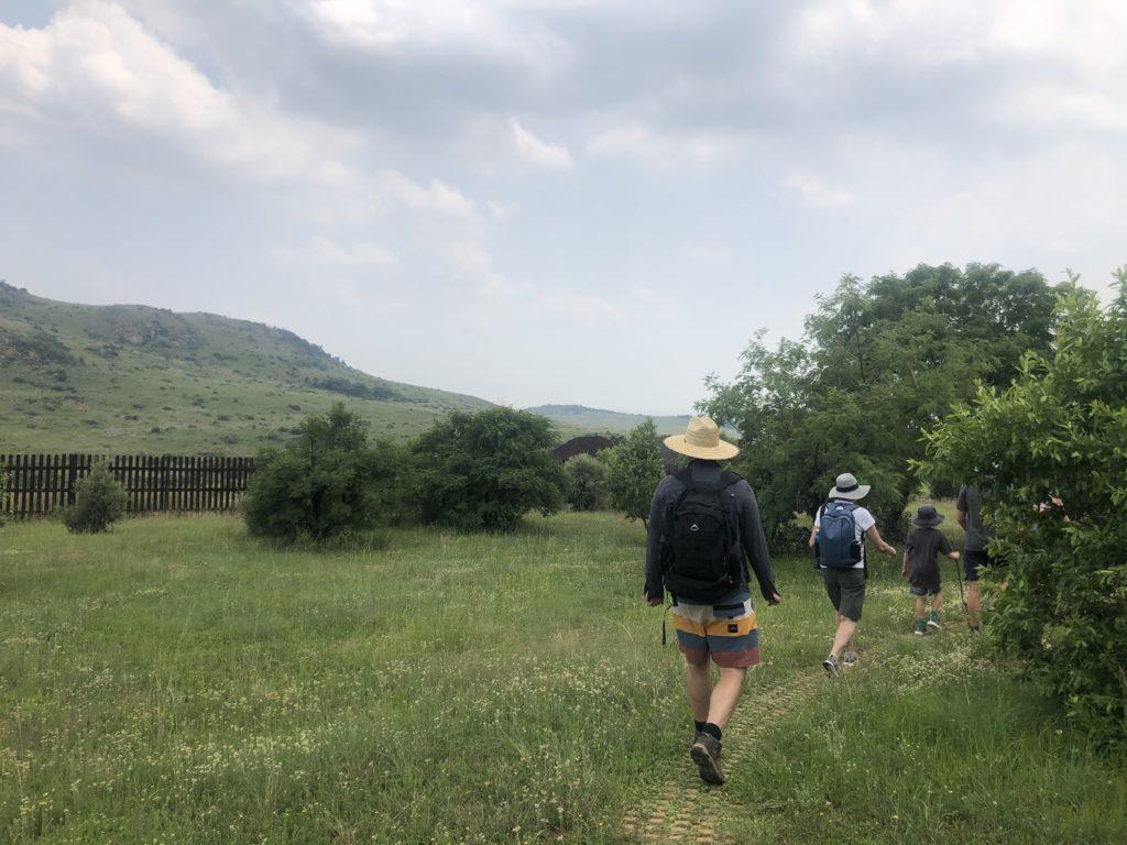 start of the Cheetah Trail Suikerbosrand