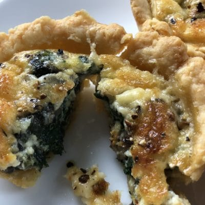 Healthy Grab-And-Go Snacks – Spinach And Mushroom Quiches